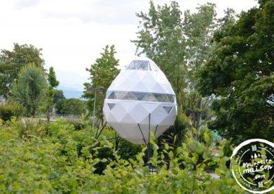Crystal dome location camping insolite